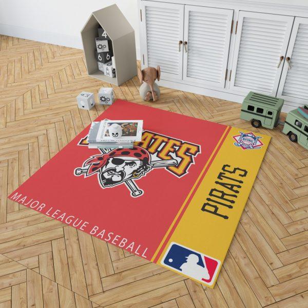Pittsburgh Pirates MLB Baseball National League Floor Carpet Rug Mat 2