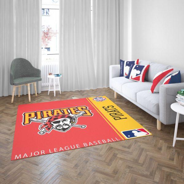 Pittsburgh Pirates MLB Baseball National League Floor Carpet Rug Mat 3