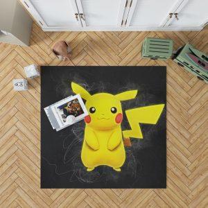 Pokémon Movie Pikachu Bedroom Living Room Floor Carpet Rug 1