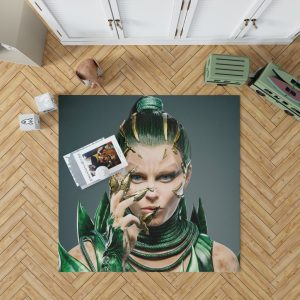Power Rangers 2017 Movie Elizabeth Banks Rita Repulsa Bedroom Living Room Floor Carpet Rug 1