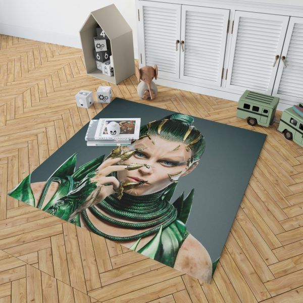 Power Rangers 2017 Movie Elizabeth Banks Rita Repulsa Bedroom Living Room Floor Carpet Rug 2