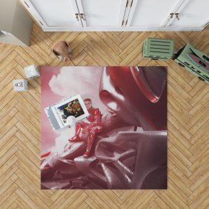 Power Rangers 2017 Movie Jason Lee Scott Red Ranger Zord Bedroom Living Room Floor Carpet Rug 1