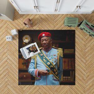 RED Movie Joe Matheson Morgan Freeman Bedroom Living Room Floor Carpet Rug 1