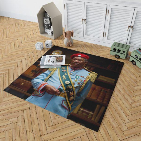RED Movie Joe Matheson Morgan Freeman Bedroom Living Room Floor Carpet Rug 2