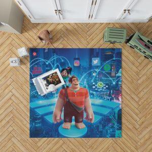 Ralph Breaks the Internet Movie Disney Vanellope von Schweetz Bedroom Living Room Floor Carpet Rug 1
