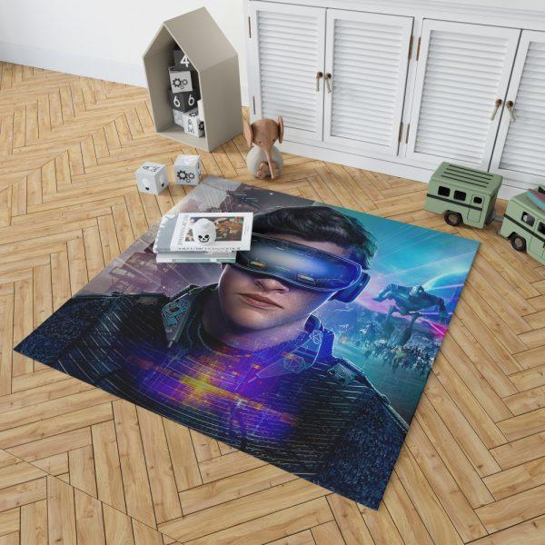 Ready Player One Movie Tye Sheridan Bedroom Living Room Floor Carpet Rug 2