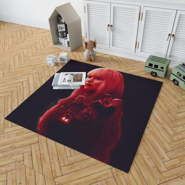 Red Sparrow Movie Bedroom Living Room Floor Carpet Rug 2