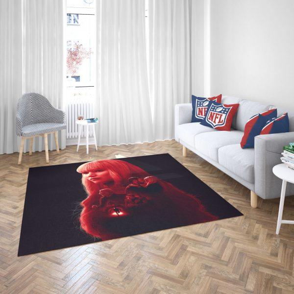 Red Sparrow Movie Bedroom Living Room Floor Carpet Rug 3