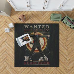 Robin Hood 2018 Movie Taron Egerton Bedroom Living Room Floor Carpet Rug 1