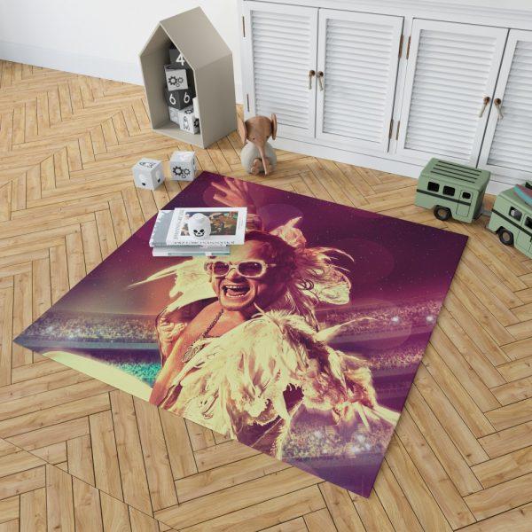 RocketMan Movie Taron Egerton Rocketman Bedroom Living Room Floor Carpet Rug 2