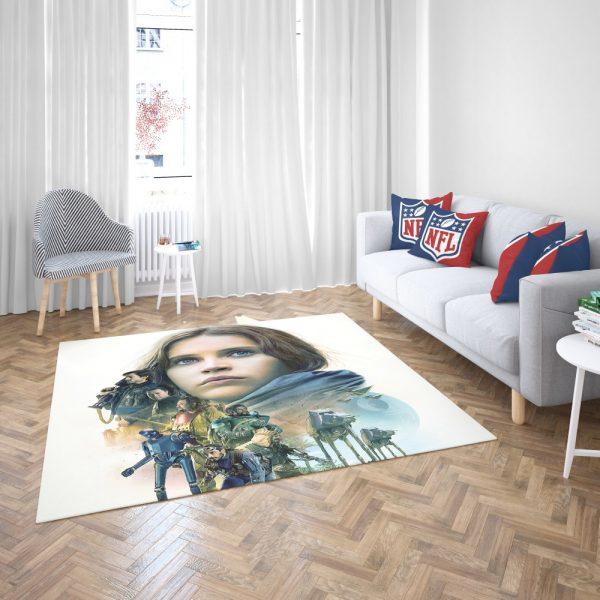 Rogue One A Star Wars Story Movie Bedroom Living Room Floor Carpet Rug 3