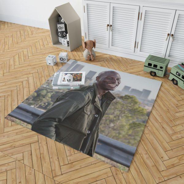 Roman Pearce Tyrese Gibson in Furious 7 Fast & Furious Bedroom Living Room Floor Carpet Rug 2