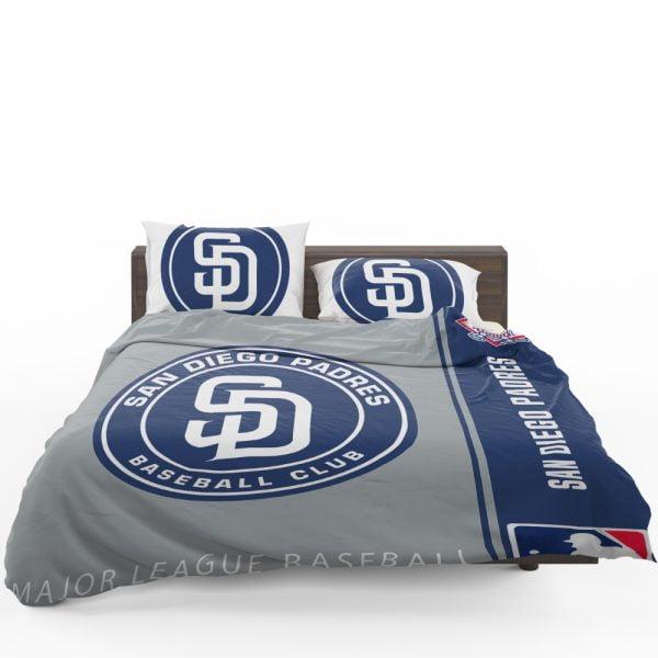 San Diego Padres MLB Baseball National League Bedding Set 1