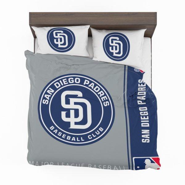 San Diego Padres MLB Baseball National League Bedding Set 2