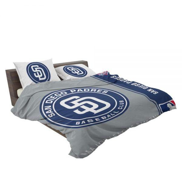 San Diego Padres MLB Baseball National League Bedding Set 3