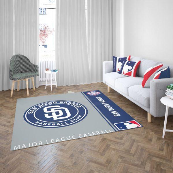 San Diego Padres MLB Baseball National League Floor Carpet Rug Mat 3