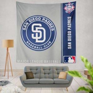 San Diego Padres MLB Baseball National League Wall Hanging Tapestry