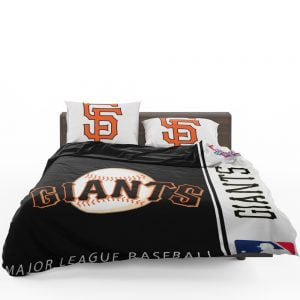 San Francisco Giants MLB Baseball National League Bedding Set 1