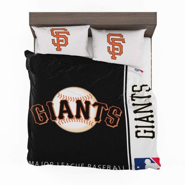 San Francisco Giants MLB Baseball National League Bedding Set 2