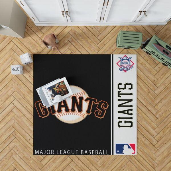 San Francisco Giants MLB Baseball National League Floor Carpet Rug Mat 1