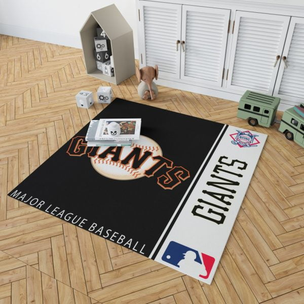 San Francisco Giants MLB Baseball National League Floor Carpet Rug Mat 2