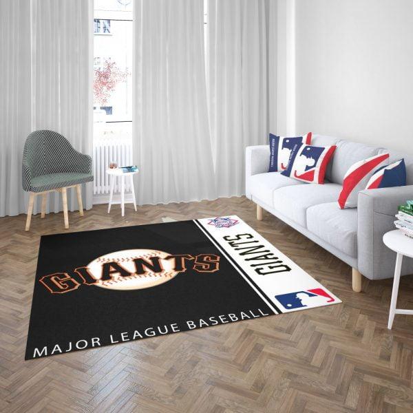 San Francisco Giants MLB Baseball National League Floor Carpet Rug Mat 3
