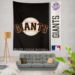 San Francisco Giants MLB Baseball National League Wall Hanging Tapestry