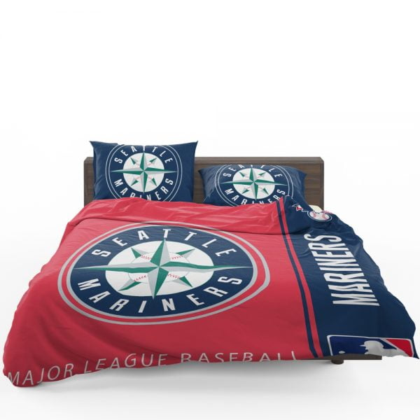 Seattle Mariners MLB Baseball American League Bedding Set 1