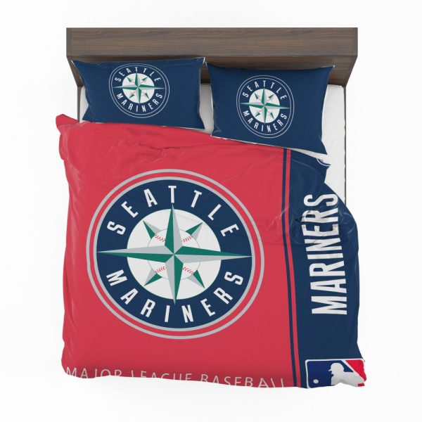 Seattle Mariners MLB Baseball American League Bedding Set 2