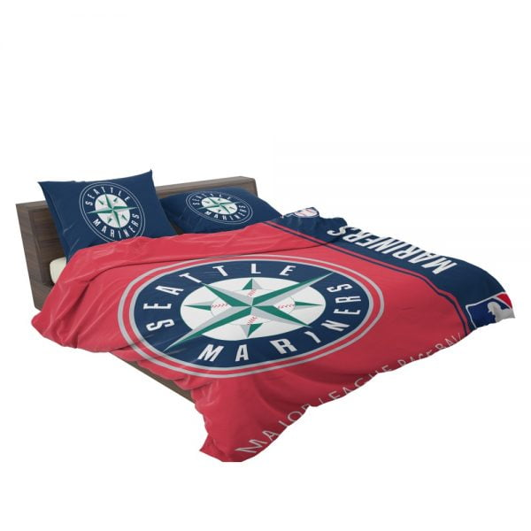 Seattle Mariners MLB Baseball American League Bedding Set 3