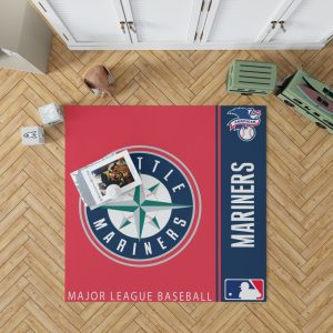 Seattle Mariners MLB Baseball American League Floor Carpet Rug Mat 1