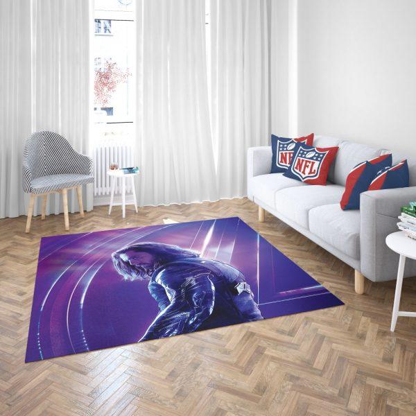Sebastian Stan Bucky Barnes White Marvel Avenger Bedroom Living Room Floor Carpet Rug 3