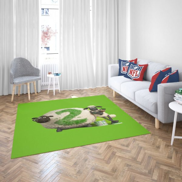 Shaun The Sheep movie Bedroom Living Room Floor Carpet Rug 3