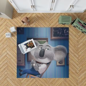 Sing Movie Buster Moon Koala Bedroom Living Room Floor Carpet Rug 1