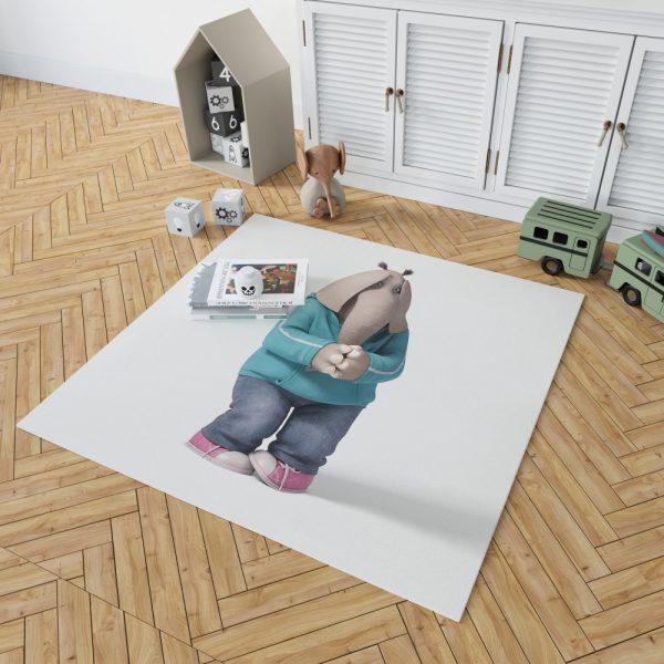 Sing Movie Meena Bedroom Living Room Floor Carpet Rug 2