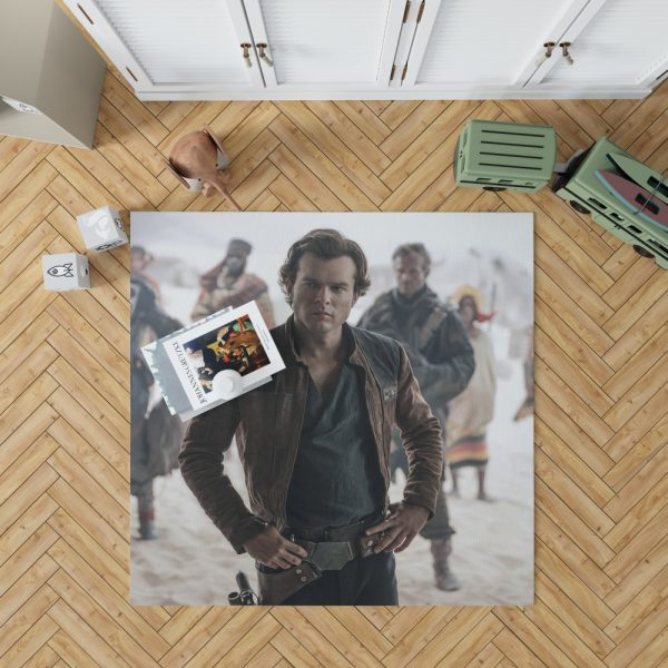 Solo A Star Wars Story Movie Alden Ehrenreich Han Solo Bedroom Living Room Floor Carpet Rug 1