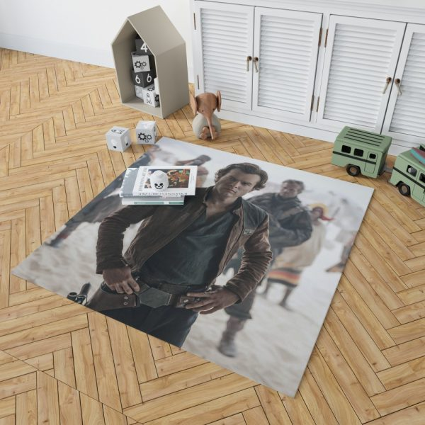 Solo A Star Wars Story Movie Alden Ehrenreich Han Solo Bedroom Living Room Floor Carpet Rug 2