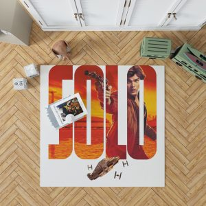 Solo A Star Wars Story Movie Alden Ehrenreich Han Solo Star Wars Bedroom Living Room Floor Carpet Rug 1