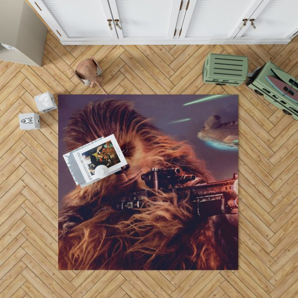 Solo A Star Wars Story Movie Chewbacca Bedroom Living Room Floor Carpet Rug 1