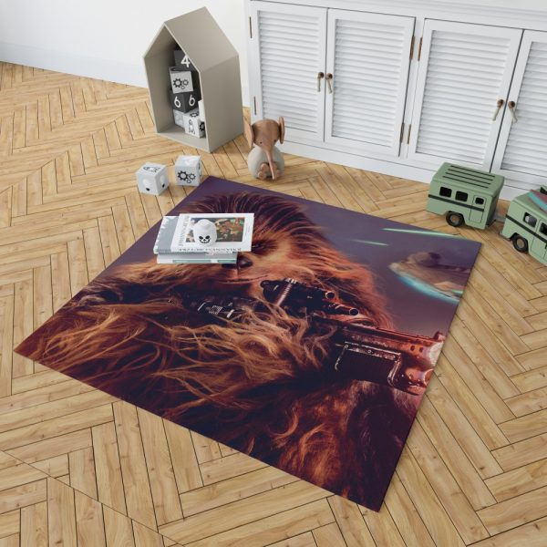 Solo A Star Wars Story Movie Chewbacca Bedroom Living Room Floor Carpet Rug 2