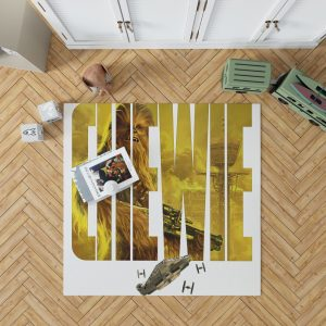 Solo A Star Wars Story Movie Chewbacca Star Wars Bedroom Living Room Floor Carpet Rug 1