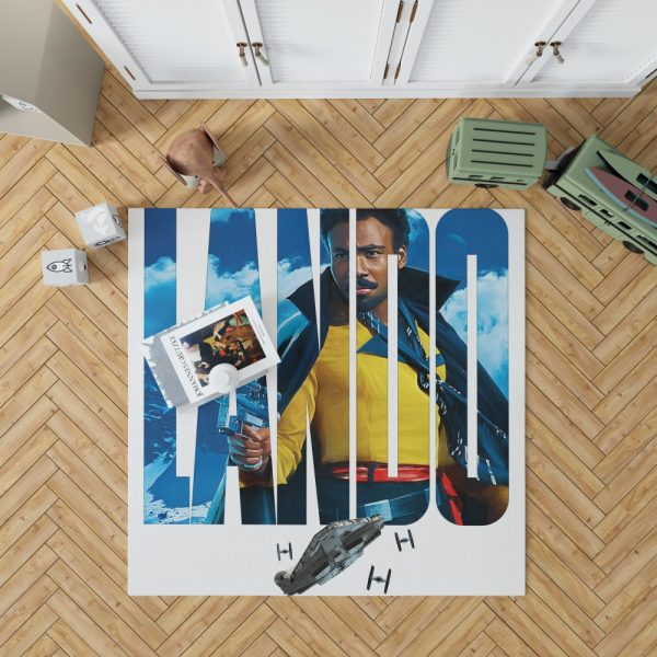Solo A Star Wars Story Movie Donald Glover Lando Calrissian Star Wars Bedroom Living Room Floor Carpet Rug 1