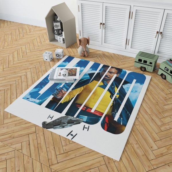 Solo A Star Wars Story Movie Donald Glover Lando Calrissian Star Wars Bedroom Living Room Floor Carpet Rug 2