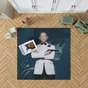 Spectre Movie Daniel Craig Bedroom Living Room Floor Carpet Rug 1
