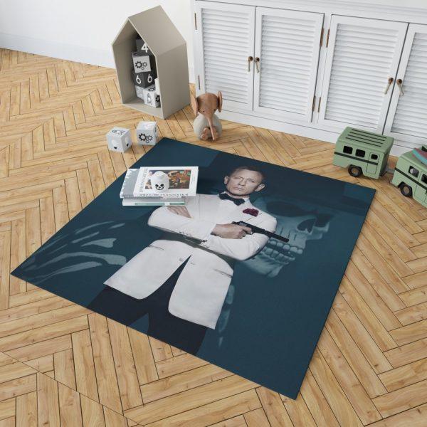 Spectre Movie Daniel Craig Bedroom Living Room Floor Carpet Rug 2