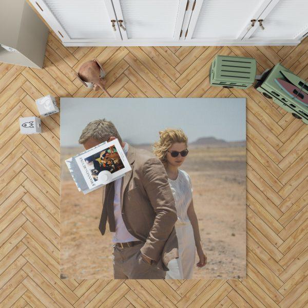 Spectre Movie James Bond Daniel Craig Madeleine Swann Lea Seydoux Bedroom Living Room Floor Carpet Rug 1