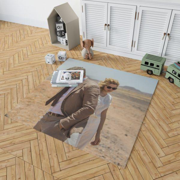 Spectre Movie James Bond Daniel Craig Madeleine Swann Lea Seydoux Bedroom Living Room Floor Carpet Rug 2