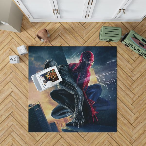 Spider-Man 3 Movie Bedroom Living Room Floor Carpet Rug 1