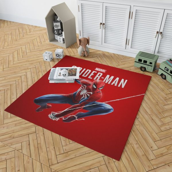 Spider Man Comics Marvel Avengers Bedroom Living Room Floor Carpet Rug 2