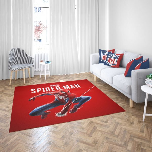 Spider Man Comics Marvel Avengers Bedroom Living Room Floor Carpet Rug 3